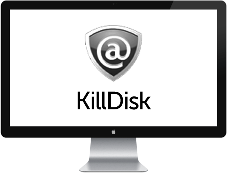 KillDisk Graphic in Monitor